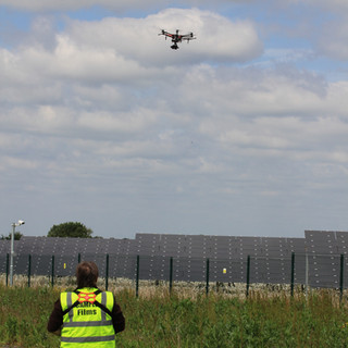 Drone Survey on Solar Farm