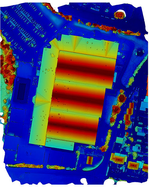 dron maping for building elevation