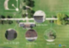 Drone terrain mapping of landscape