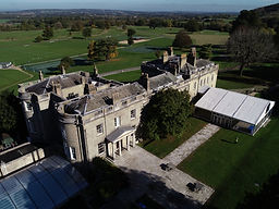 Aerial drone view of Seaford college