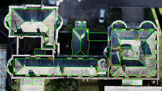Roof mapping picture