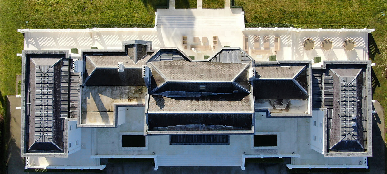 View of property roof