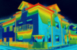 Thermal view from drone