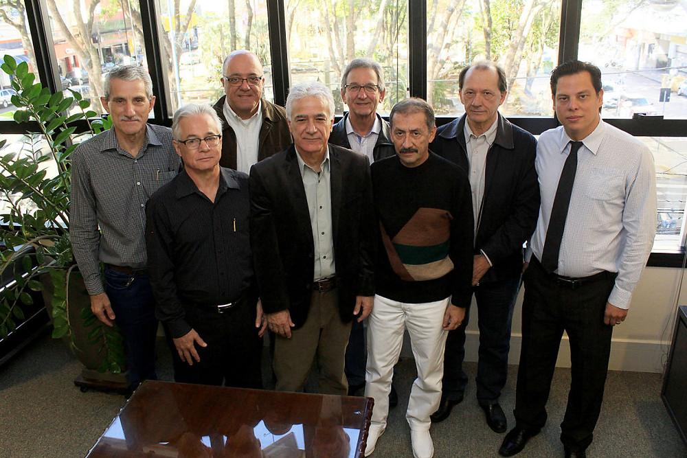 Presidentes das entidades que compoem o G6 (Foto: Wilker Maia/ACIF)
