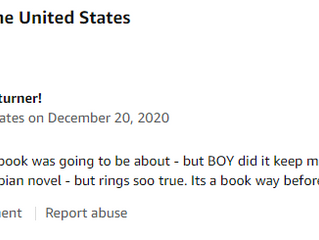 3rd 5-STAR Review on Amazon!