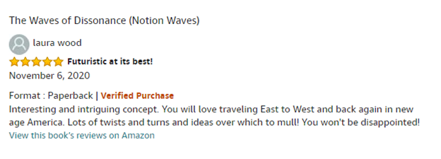 5-star reviews on Amazon!