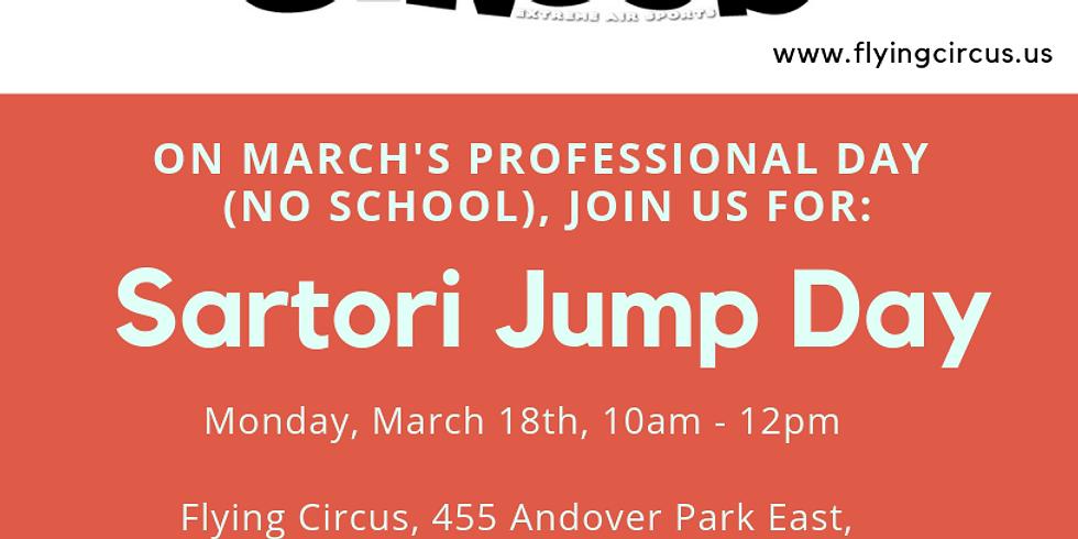 Sartori Jump Day