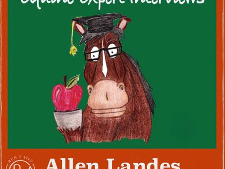 Equine Experts Interview - Allen Landes