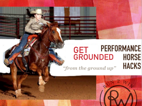 Performance Horse Hacks: Get Grounded - nervous horses and nervous riders