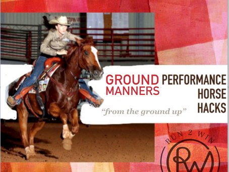 Performance Horse Hacks: Ground Manners for barrel horses