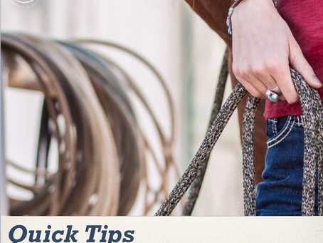 Quick tips for riders - How to test ride a barrel racing demo saddle
