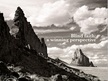 Blind Faith, a winning perspective - Cowgirl Chronicles
