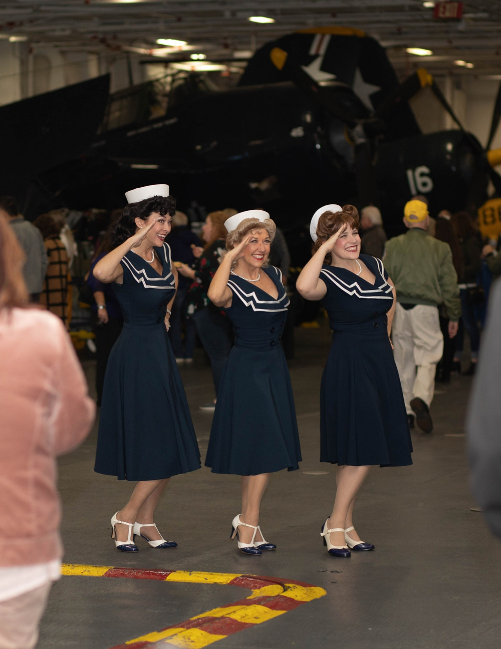 Singing on the USS Midway