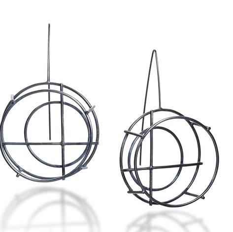 Circle Structure Earrings