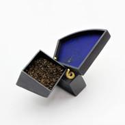 Silver, 750 gold, lapis lazuli, steel, patinas