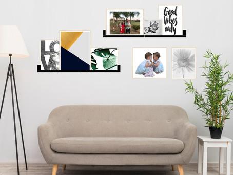קיר תמונות משפחה