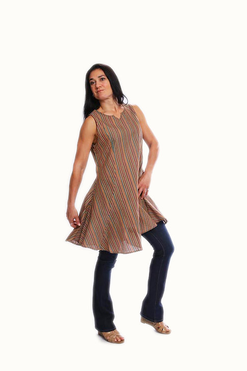 Drop Front Tunic