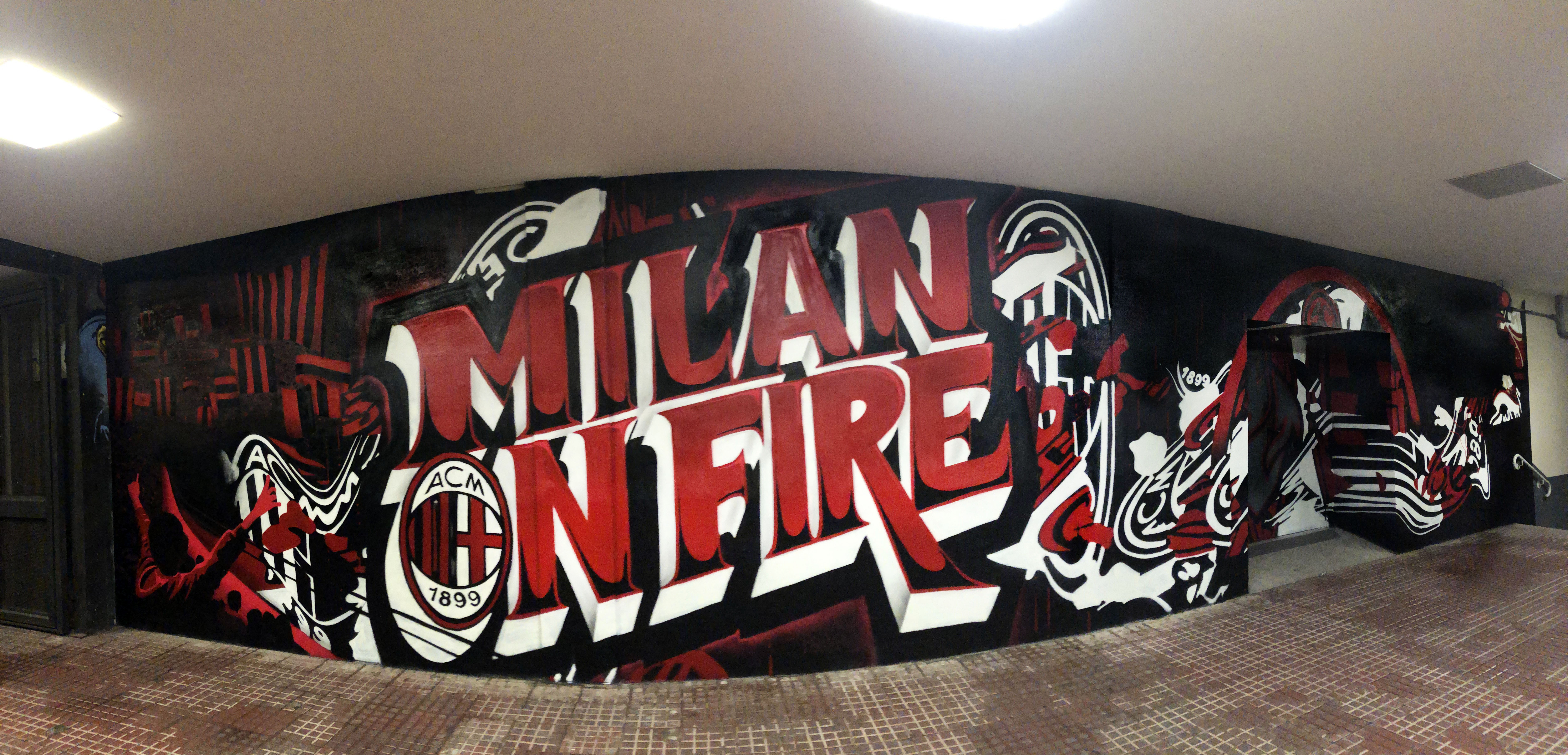 Rancy x AcMilan x Puma in San Siro
