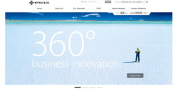 Mitsui.com Front page Banner