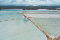 Salt Farm Evaporation Pool #4