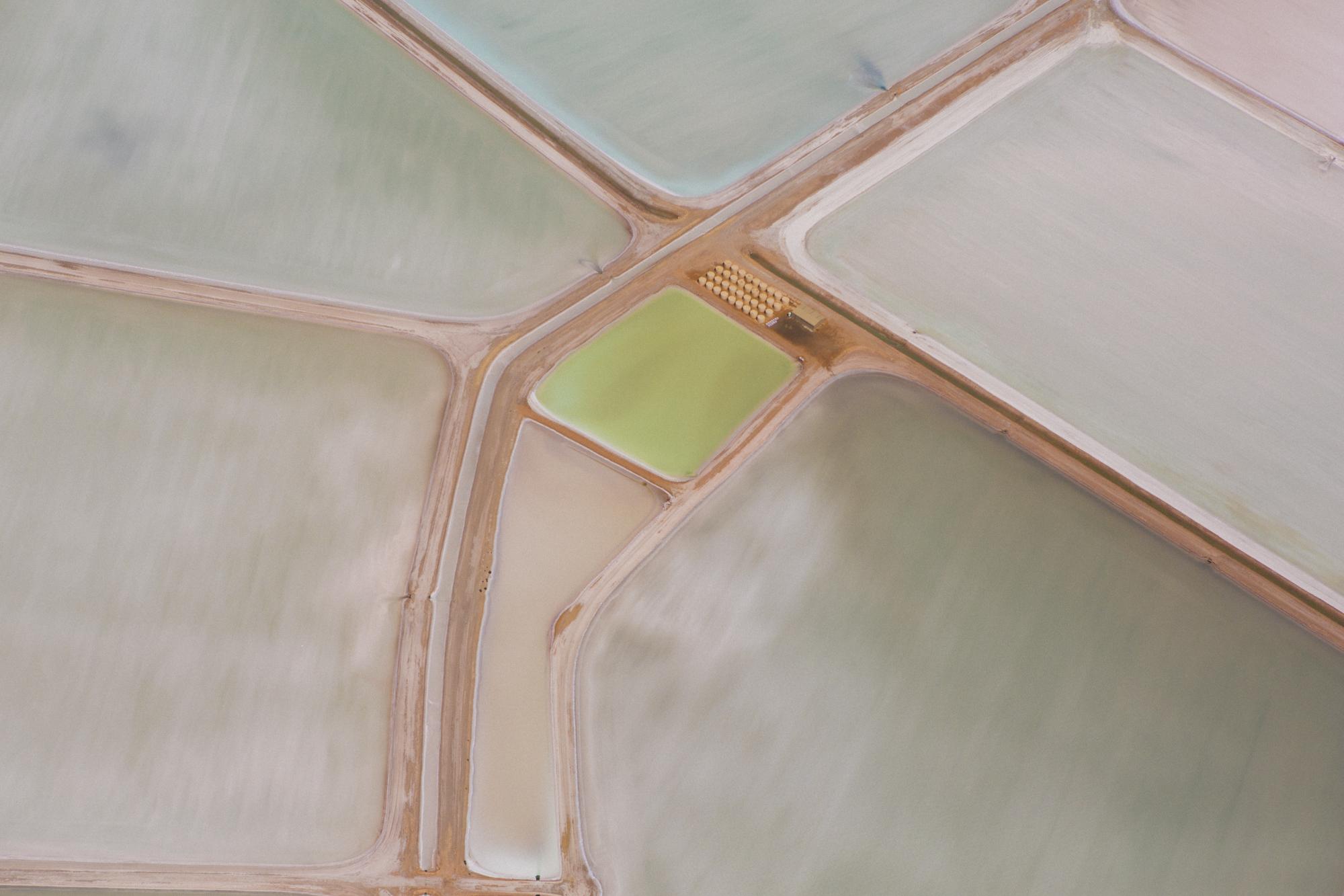 Salt Farm Evaporation Pool #1