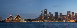 Sydney CBD Dusk