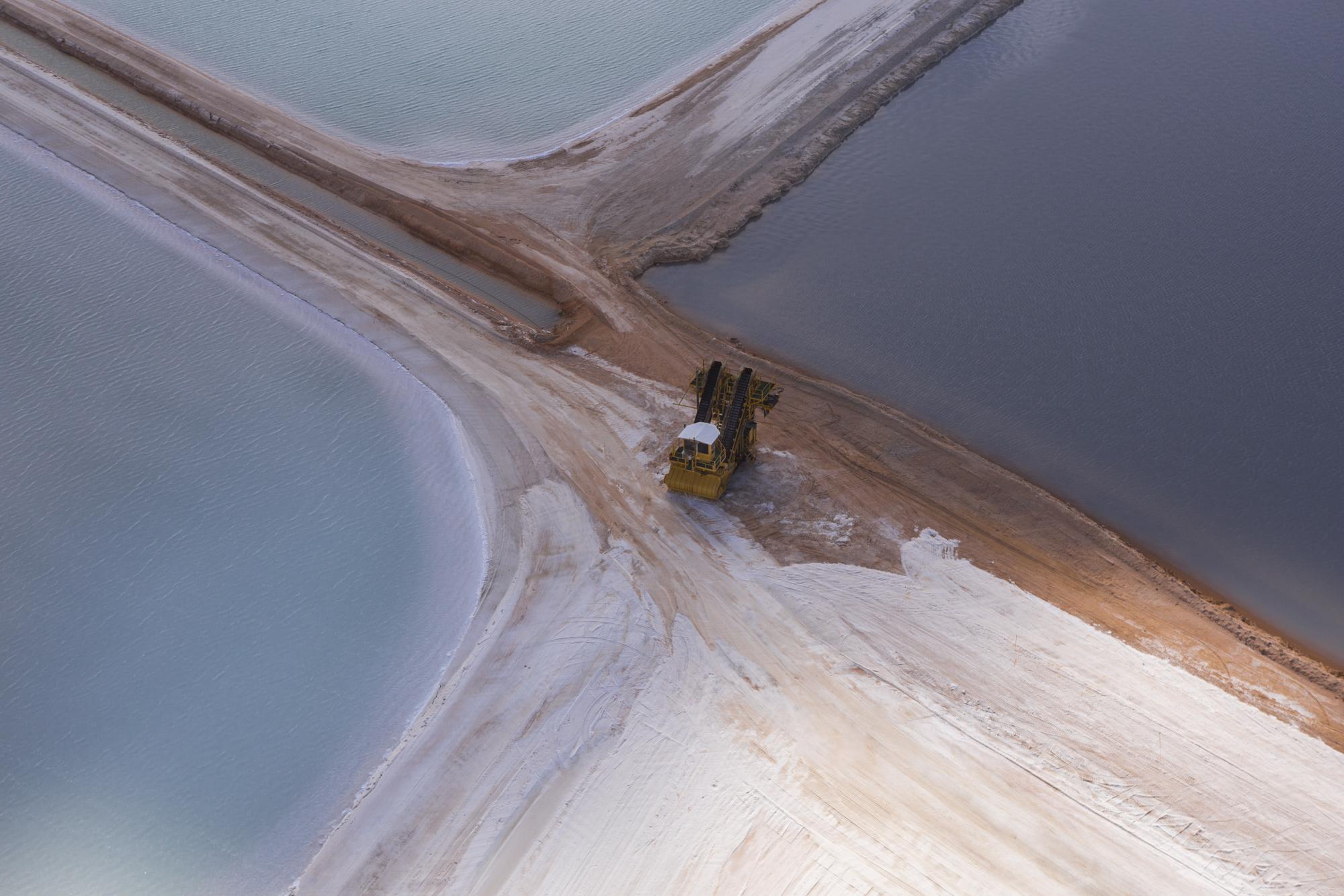 Salt Farm Evaporation Pool #3