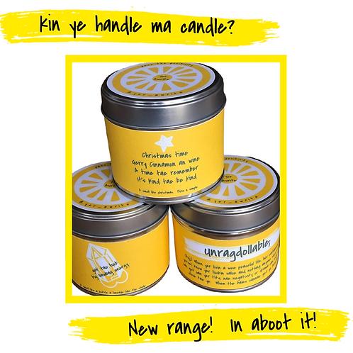 Kin Ye Handle Ma Candle