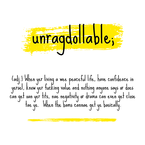 'Unragdollable' Print