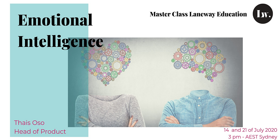 Master Class - Emotional Intelligence - Week 1