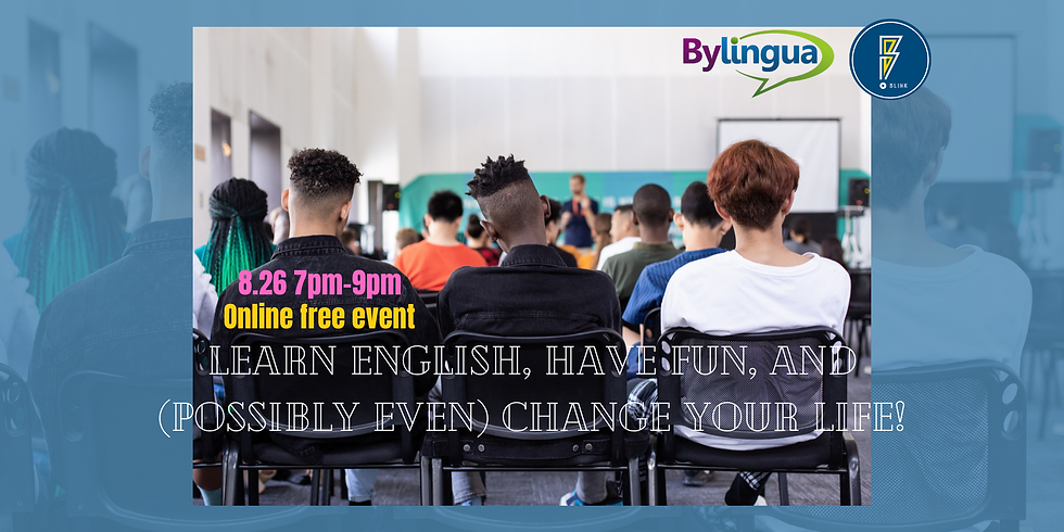Learn English, Have Fun, and (possibly even) Change your Life!