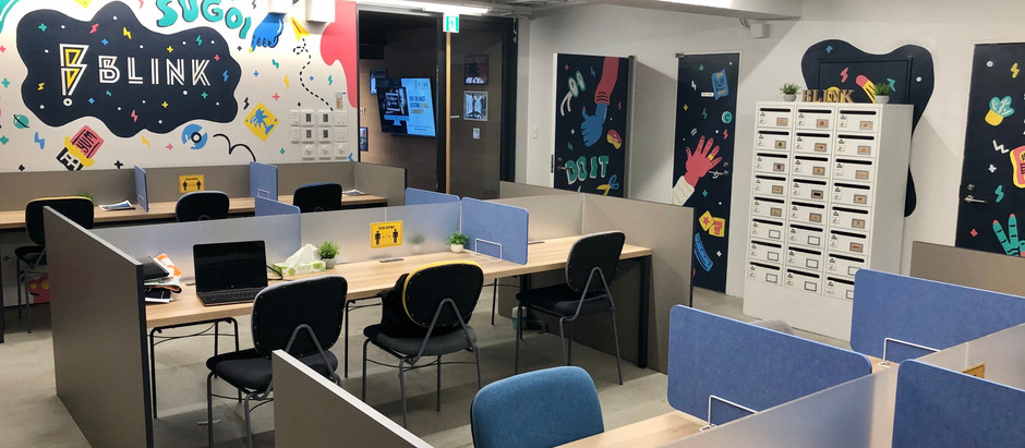 COVID-19 safe workspace in Tokyo