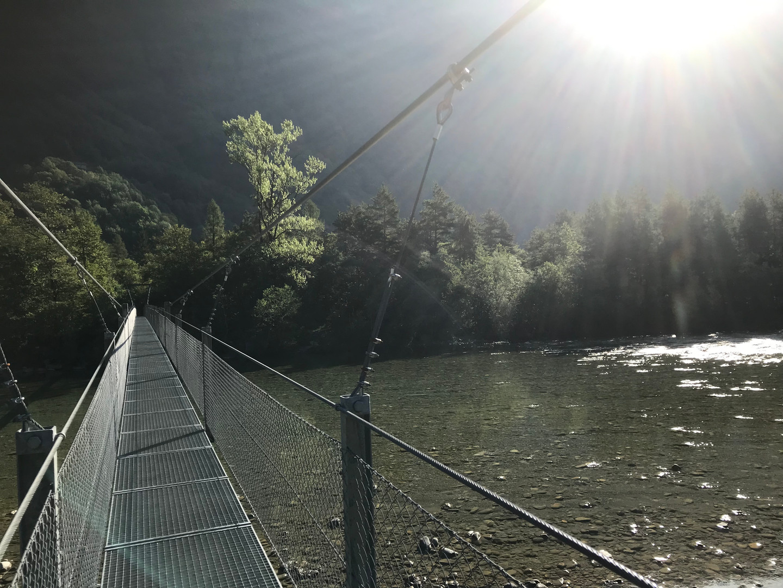 Hängebrücke Someo