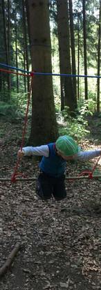 Spielen mit dem Seil