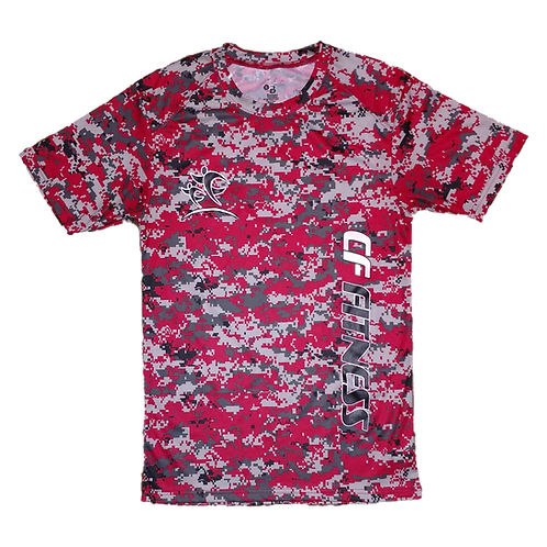 """Kids CF Fitness T-Shirt - Camo - Red """"Limited Edition"""""""