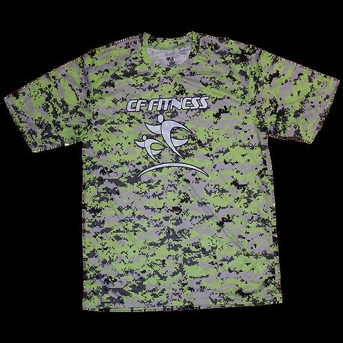 CF Fitness T-Shirt - Camo - Green