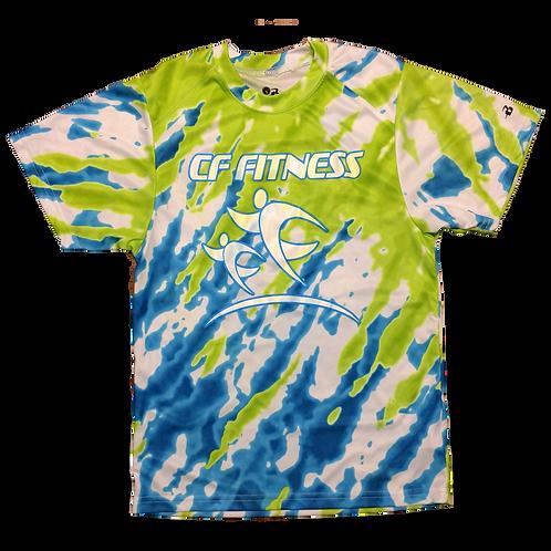 Kids CF Fitness T-Shirt - Tie Dye - Original