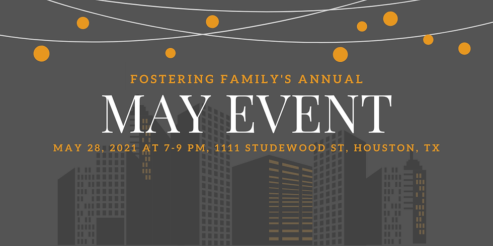 3rd Annual May Event