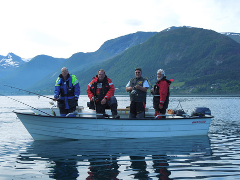 Try fishing on the fjord