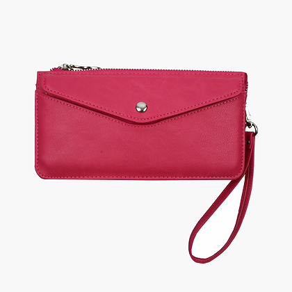 Red Cuckoo Fuchsia Purse