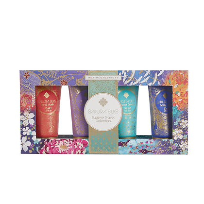 Heathcote & Ivory Sakura Silks Sublime Travel Collection