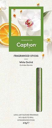 Caption Fragrance Sticks - White Orchid