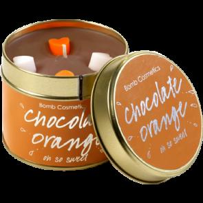 Chocolate Orange Tin Candle