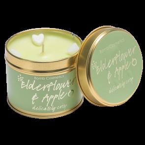 Elderflower & Apple Tin Candle