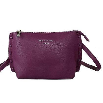 Red Cuckoo Purple Crossbody Bag