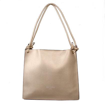 Red Cuckoo Gold Knot Shoulder Bag