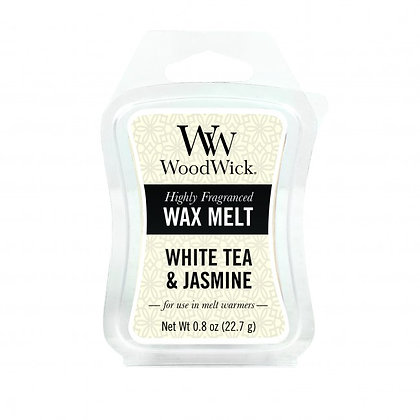 WoodWick Mini Hourglass Wax Melt White Tea and Jasmine 0.8oz