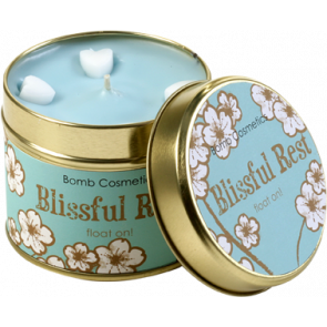 Blissful Rest Tin Candle