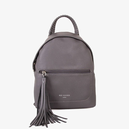 GREY MINI BACKPACK