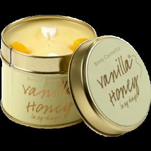 Vanilla Honey Tin Candle